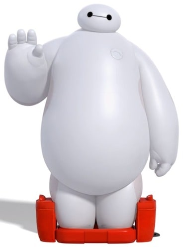 baymax waving