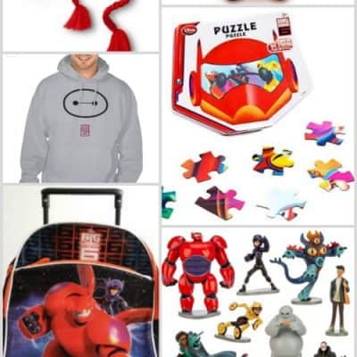 10 More BIG HERO 6 Gifts!