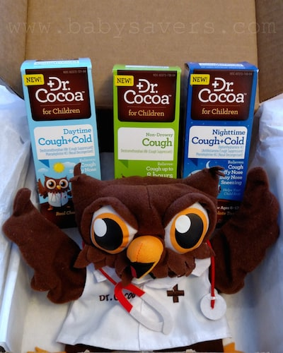 chocolate flavored cough and cold medicine