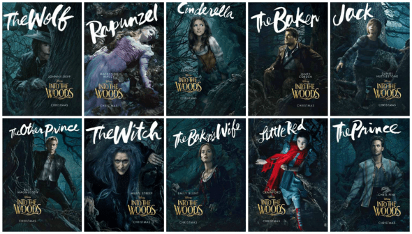 into the woods 2014 posters