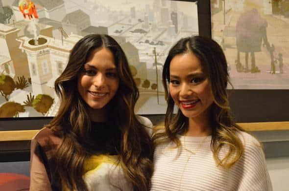 jamie chung genesis rodriguez together big hero 6