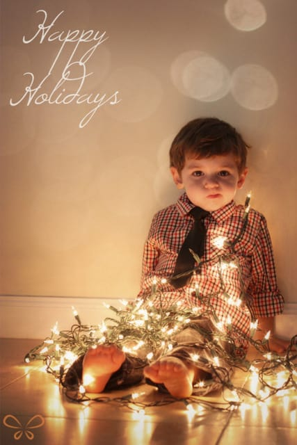 kid christmas card ideas