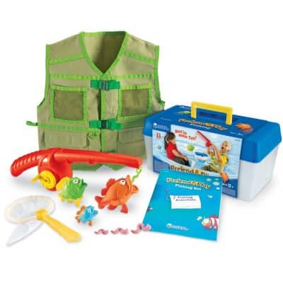 Save 50% on the Learning Resources Pretend + Play Fishing Set, Free Shipping