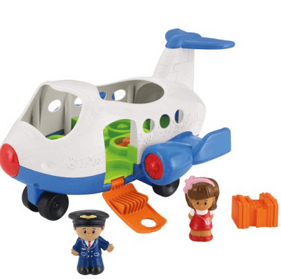 Save 20% on the Fisher Price Little People Lil Movers Airplane, Free Shipping Eligible!