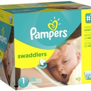 pampers new diapers