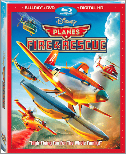 planes fire and rescue dvd blu ray