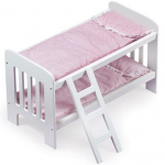 Save 50% on the Badger Basket Doll Bunk Beds with Ladder, Free Shipping Eligible!