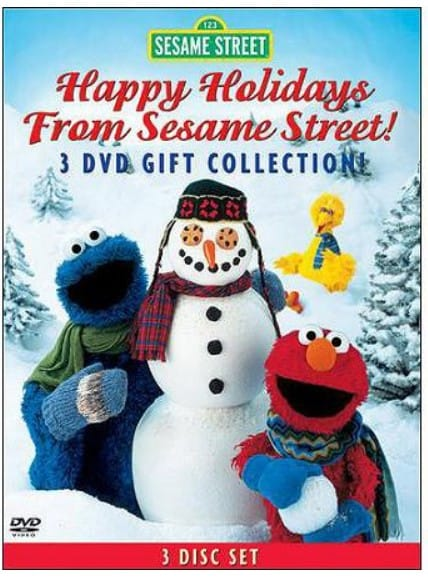 the happy holidays from sesame street elmos world happy holidays elmo saves christmas christmas eve on sesame street is on sale for 996 at - Sesame Street Elmo Saves Christmas