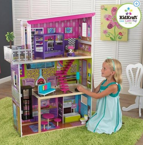 KidKraft Super Model Dollhouse With Furniture Only 48 Free Shipping Enchanting Shipping Furniture Model