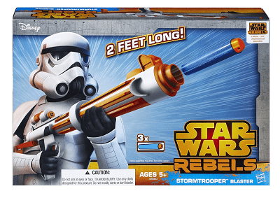 Save 44% on the Star Wars Rebels Stormtrooper Blaster, Free Shipping Eligible!