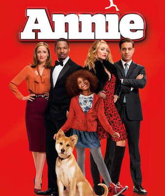 annie movie review remake