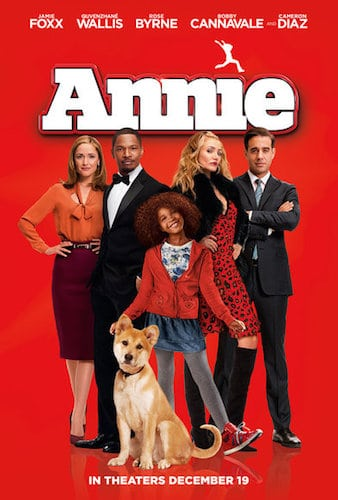 annie 2014 review poster