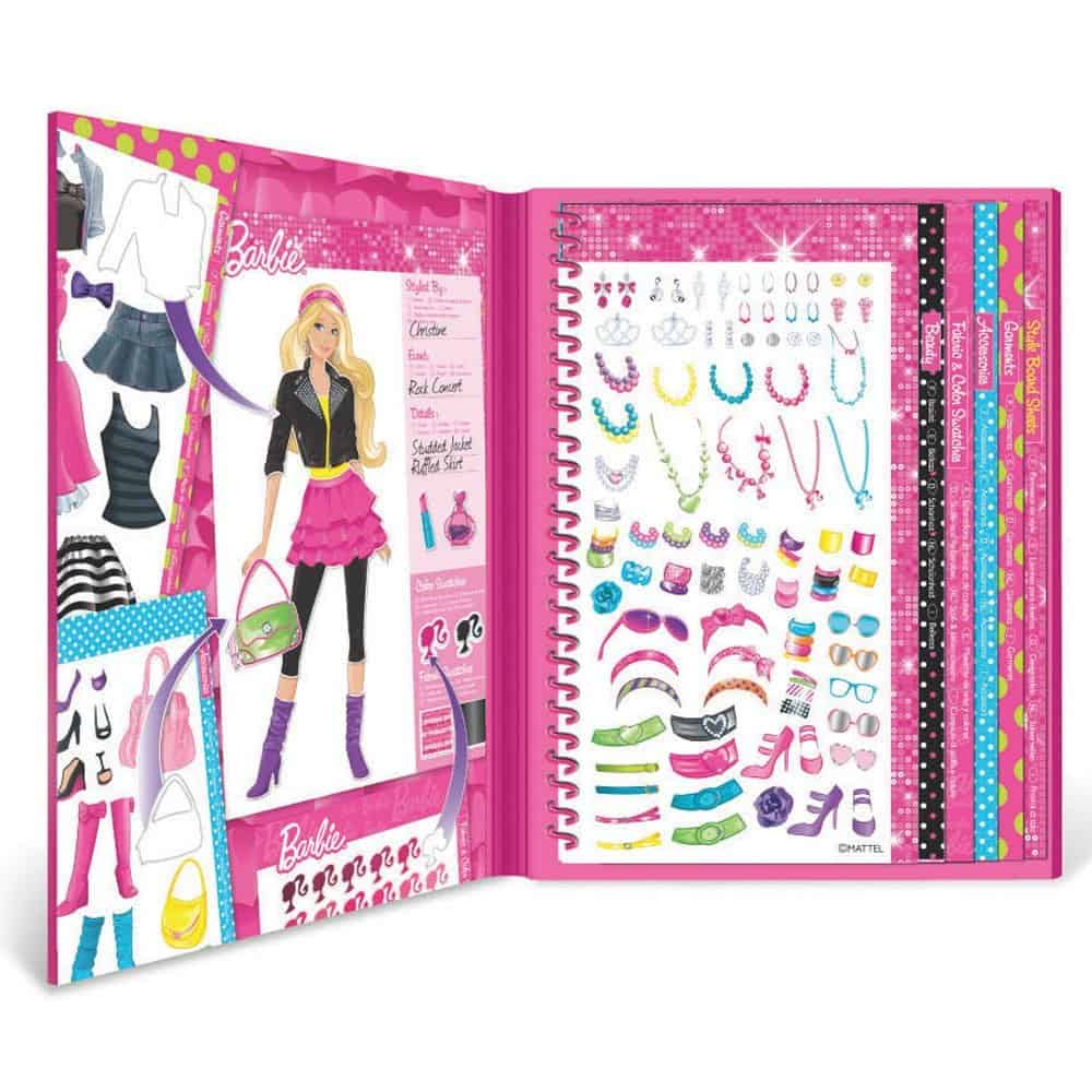 barbie-sticker-stylist