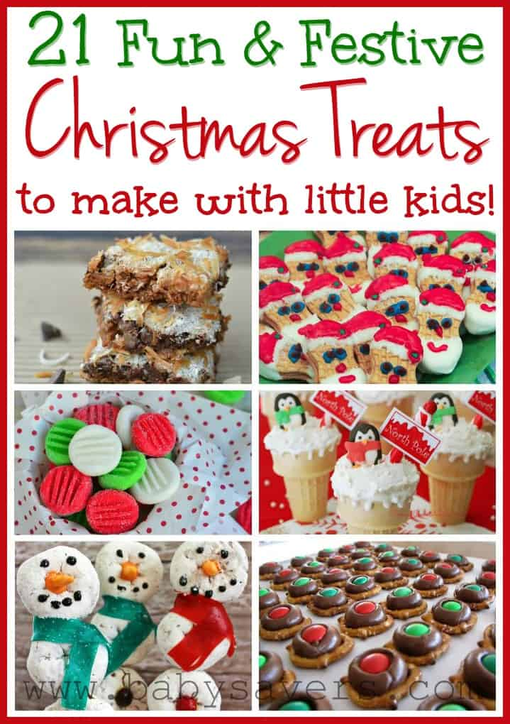 Easy Christmas Recipes for Kids 21 KidFriendly Treats
