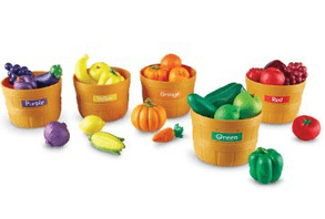 Save 45% on the Learning Resources Farmers Market Color Sorting Set, Free Shipping