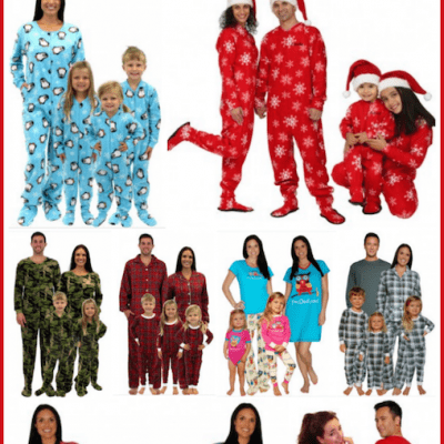 Christmas Footie Pajamas for the Family: Get Them Before Christmas!