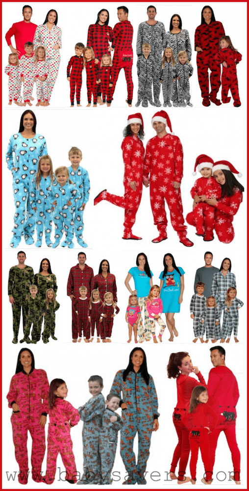 Christmas pajamas for the family