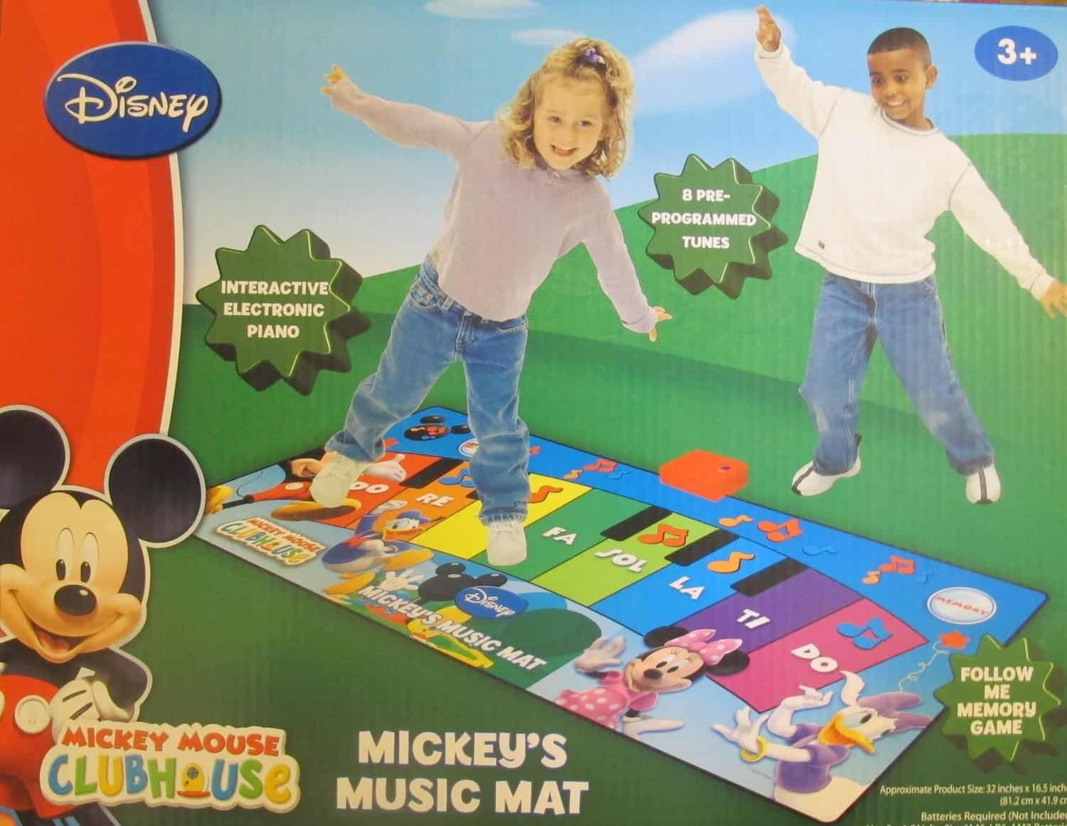 Save 40 On The Mickey Mouse Clubhouse Music Mat Free