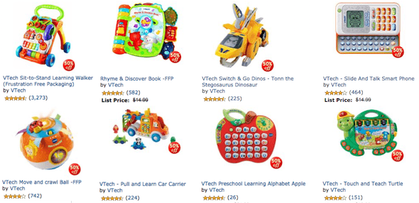 vtech toy reviews
