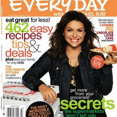 Everyday with Rachael Ray just $4.95/Year!