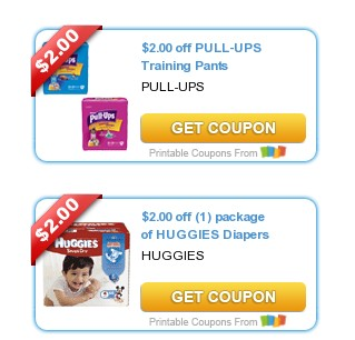 New Printable Huggies Coupons: Save Up to $7 with all 4 Coupons!