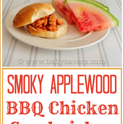 Easy Applewood Bacon BBQ Chicken Sandwiches