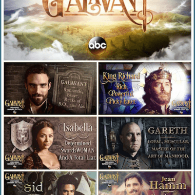 exclusive galavant no spoilers