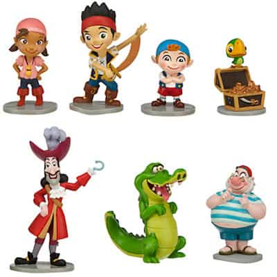 jake and the never land pirates figurine figures set