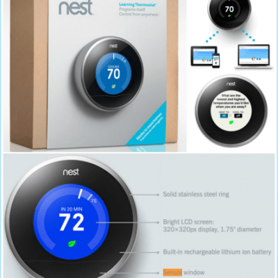 Why My NEST Thermostat is SO MUCH Smarter Than a Programmable Thermostat!