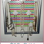 How to Make a DIY Hanging Jewelry Organizer for Under $10