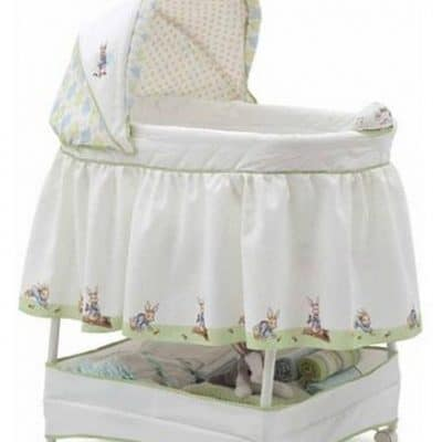 Save 40% off Peter Rabbit Gliding Bassinet, Free Shipping Eligible!