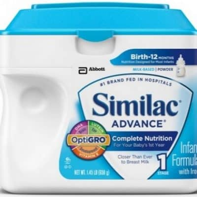 Target Coupon Deal: Similac Baby Formula only $18.99 (reg $24.99)!