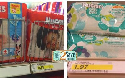 Target Deals: Huggies Diapers AND Wipes only $5.91 After Printable Coupons