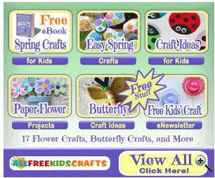 FREE Spring Crafts eBook for Kids!