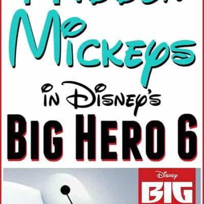 Hidden Mickeys in BIG HERO 6: Own it on Blu-Ray and DVD Today!