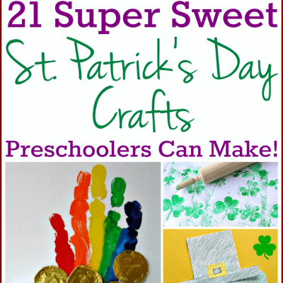 St. Patrick's Day Crafts for Preschoolers and Toddlers: 21 Great Projects!