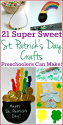 St. Patrick's Day crafts for preschoolers