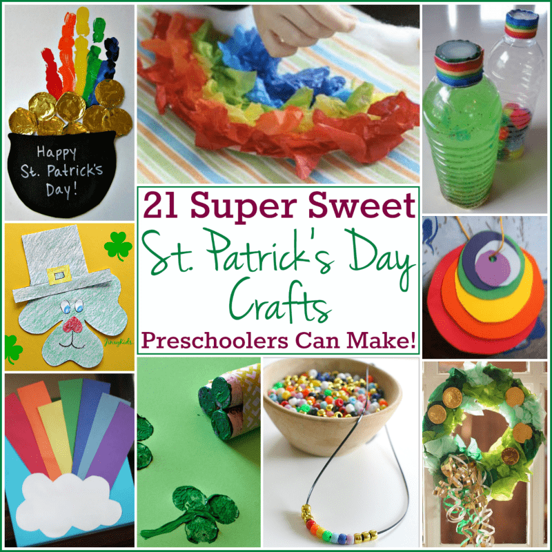 St patrick 39 s day crafts for preschoolers 21 great ideas for St patrick day craft ideas