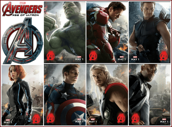 All new avengers posters