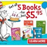 5 Classic Dr. Seuss Books just $5.95, FREE Activity Book, FREE Shipping!