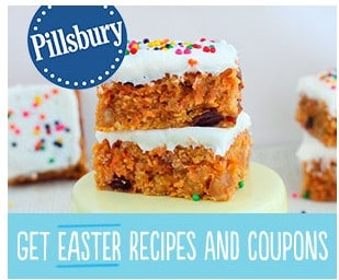 Sign Up to get a FREE Samples, Easter Recipes and more from Pillsbury!