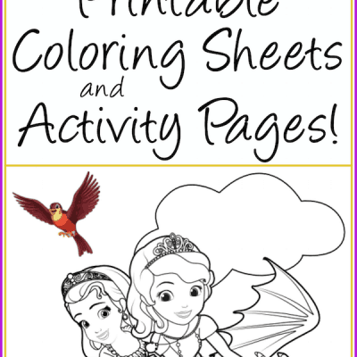 free printable sofia the first coloring pages activity sheets