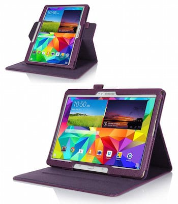 tablet case with horizontal view