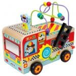 Save 45% on the ALEX Jr. Busy Fire Truck Wooden Activity Center, Free Shipping Eligible!