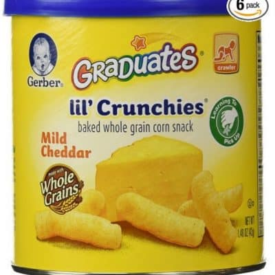 Save 35% on the Gerber Graduates Lil' Crunchies, Free Shipping Eligible!