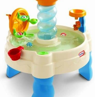 Save 43% on the Little Tikes Spiralin' Seas Waterpark Play Table, Free Shipping Eligible!