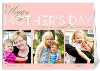 Shutterfly Promo Code: FREE Personalized Mother's Day Card!