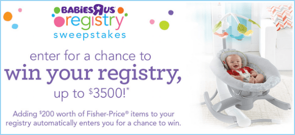 Enter to win your entire babies r us baby registry