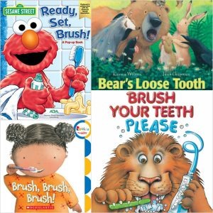 24 Highly Rated Children's Books about The Dentist and Teeth