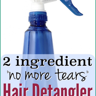homemade hair detangler diy